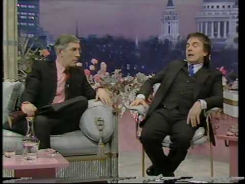 Peter Cook and Dudley Moore - reunited on Joan Rivers