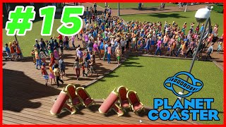 Planet Coaster - MALA MUJER 🤬 - Cap. 15 - Gameplay Español