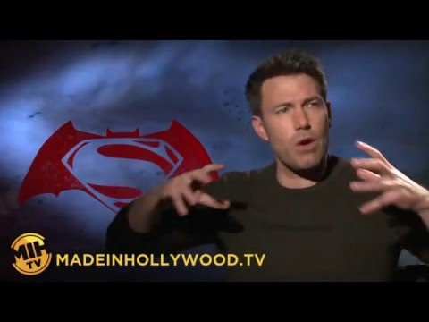 Ben Affleck Uncut Interview Batman v Superman Dawn of Justice