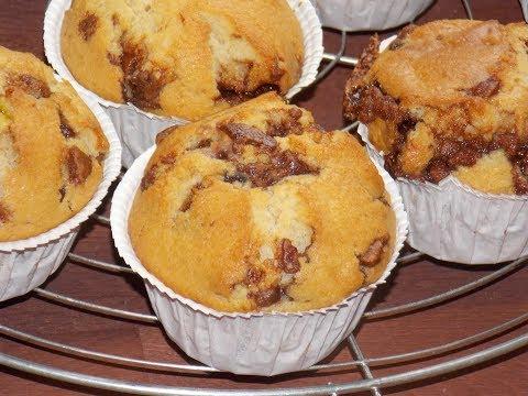 Véritable Recette des Muffins Américains chocolat lait & blanc - Miss Marta