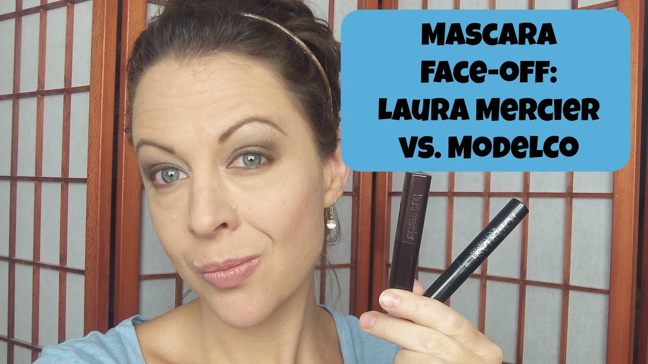 da2097561ae Laura Mercier vs Modelco Mascara - YouTube