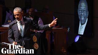 Elijah Cummings: Obama, Clinton and Pelosi remember the late congressman at funeral