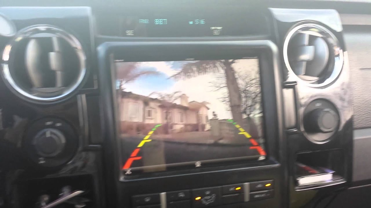 In Dash ipad with Back up Camera!!! - YouTube