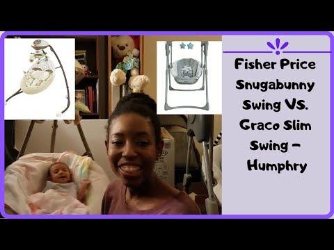 Fisher Price Swing Vs Graco Swing Comparison