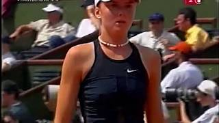 Monica Seles vs Daniela Hantuchova 2002 RG Highlights