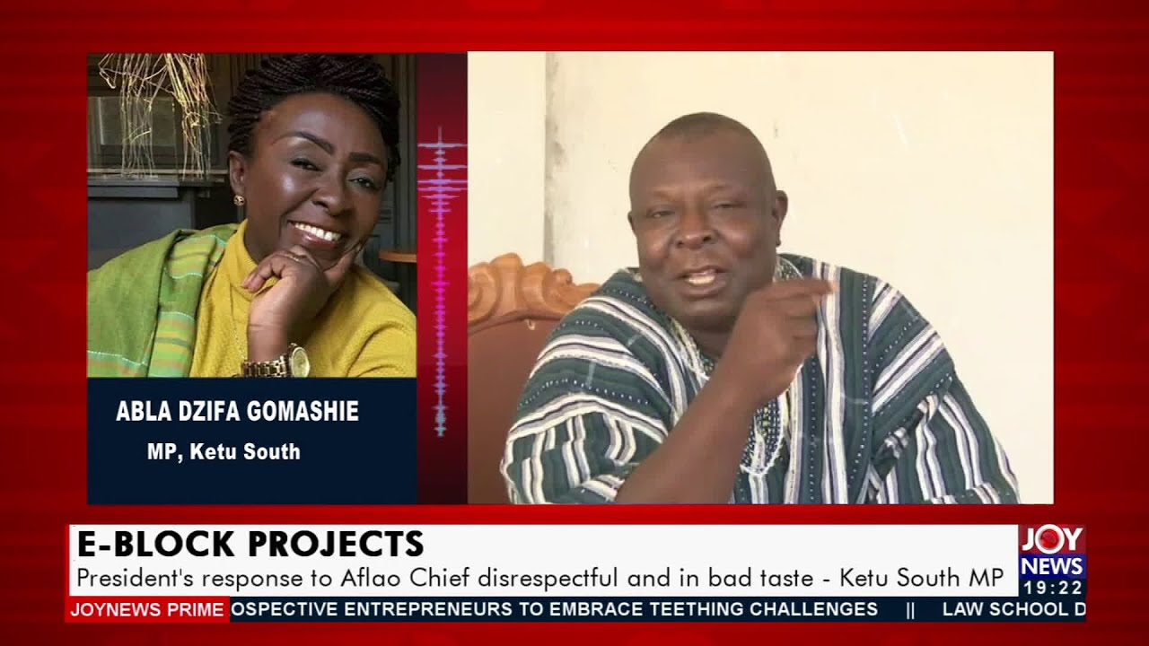 Download President's response to Aflao Chief disrespectful and in bad taste – Ketu South MP (21-10-21)