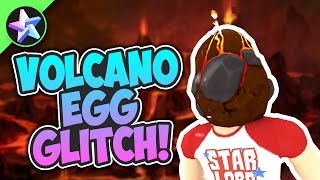 GLITCHING TO GET A HARD EGG! (Eggcano) - Roblox Egg Hunt 2017