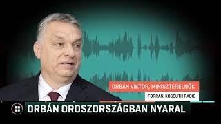 Orbán Viktor Oroszországban nyaral 19-07-21