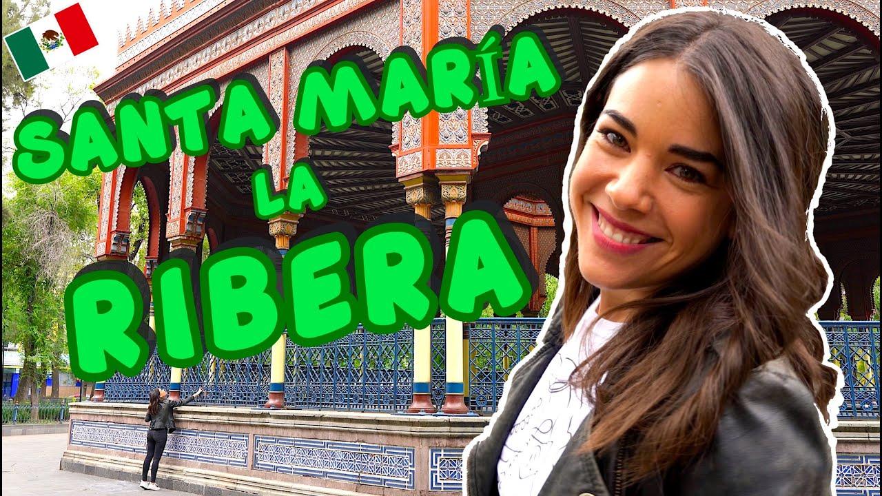 Qué HACER en Santa MARÍA la RIBERA  Ciudad de México  4K