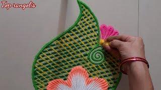 Everyday के लिए दो आसान और सुंदर | rangoli design || Top rangolis by Aarti shirsat