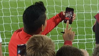Firmino Takes SELFIES With Liverpool Fans