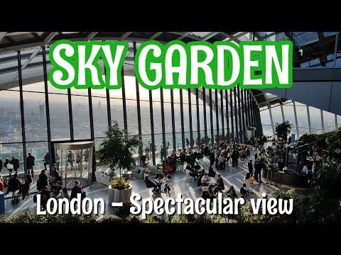 Sky Garden London - Spectacular 360 degree views of London from Darwin Brasserie