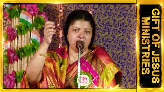 Dr.J.Preetha Judson Telugu Message Topic : God is Love.