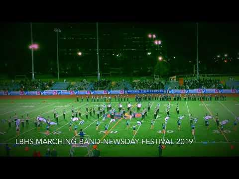 Long Beach High School Marching Band-Newsday Festival 2019