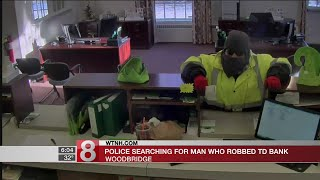 Woodbridge police search for robbery suspect
