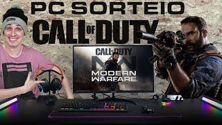 SORTEIO SETUP DE R$ 20.000,00 - COMO RODA Call Of Duty?
