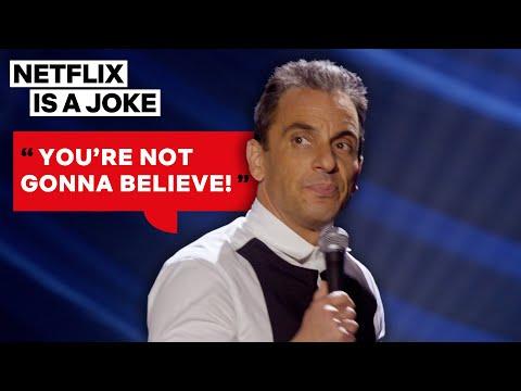Sebastian Maniscalco Can't Wait to Spill Family Drama | Netflix Is A Joke