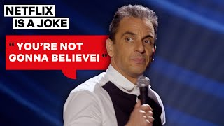 Sebastian Maniscalco Can't Wait to Spill Family Drama | Netflix Is A Joke