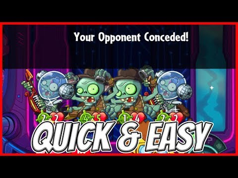 Tempo Exposed Deck by Ken Martin - THIS DECK IS INSANE!!! - Plants vs Zombies Heroes Gameplay