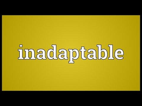 Header of inadaptable
