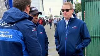 Bill Ford & Raj Nair Interview at Le Mans 24h 2016