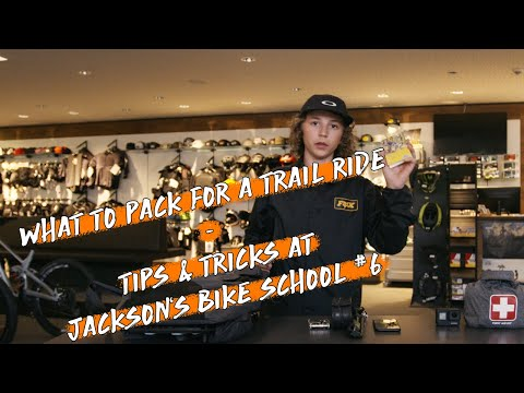 Jackson Goldstone: What to Pack for a Trail Ride. Tips and Tricks at Jackson's Bike School #6