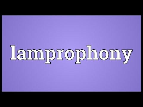 Header of lamprophony