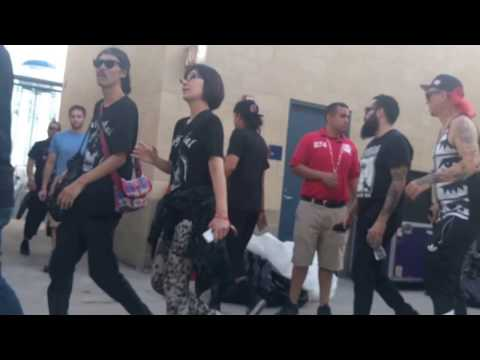 Baby Metal Back Stage - Chicago Open Air Fest - 07/17/2016