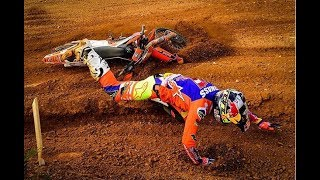 The Biggest Motocross Crashes 2018 | Part 1