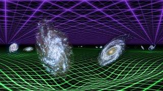 Krümmung des Raums durch Massen (Relativitätstheorie)