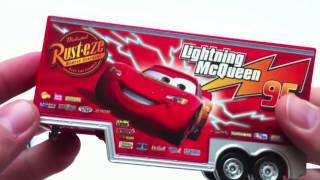 Мак вантажівка евакуатор автомобілів іграшок Такара Томі коментар Diecast іграшка Блискавка Маккуїн