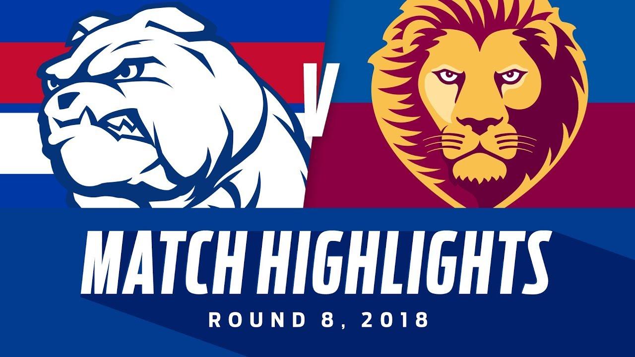 Match Highlights: Western Bulldogs v Brisbane Lions ...