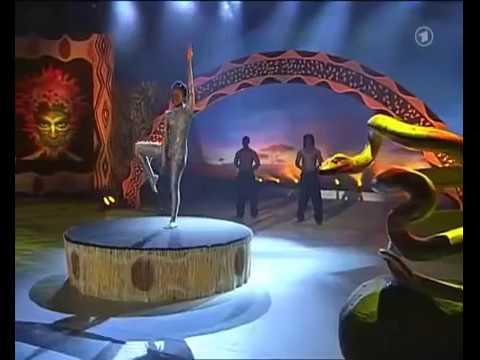 Africa's Got Talent - Snake Woman. ( Schlangenfrau)