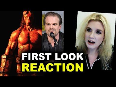 Hellboy Reboot FIRST LOOK David Harbour REACTION
