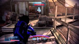 Mass Effect 3: The Vanguard's second heavy melee attack, the running melee