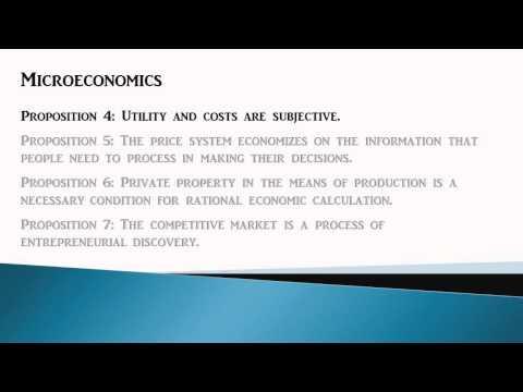10 Propositions Austrian Economists Believe (by Peter Boettke)