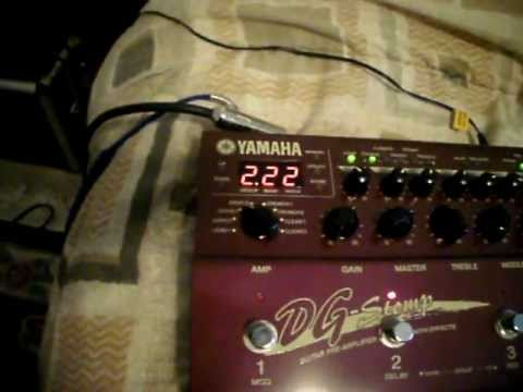 Yamaha DG Stomp - Part 1 of 3 - sound cuts out - Trashbay!