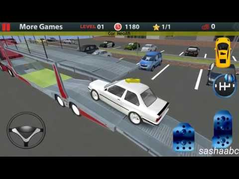 truck parking car transporter обзор игры андроид game rewiew android