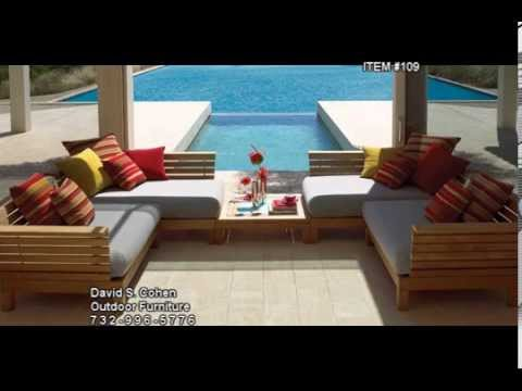 David S Cohen Outdoor Furniture Youtube
