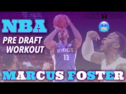 OVERLOOKED EPISODE 1:  NBA SACRAMENTO KINGS SUMMER LEAGUE GUARD MARCUS FOSTER PRE DRAFT WORKOUT
