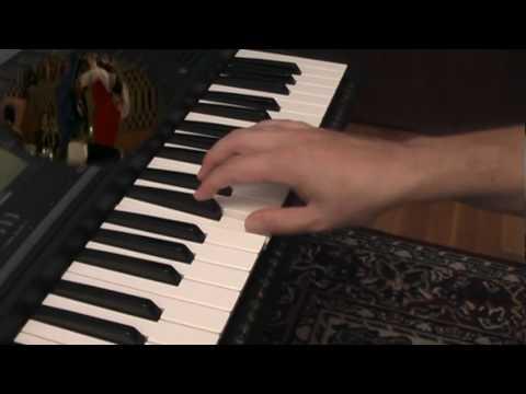 Zorro dance scene on keyboard over the movie score