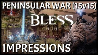 Bless Online: First Peninsular War 15v15 PvP Experience | Not Bad If You're 45