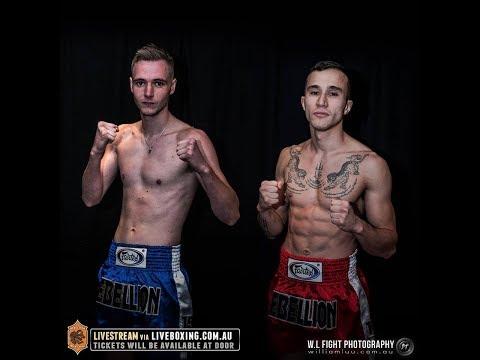 Rebellion Muaythai 15: Sam Himing vs Dylan Walker - FULL FIGHT