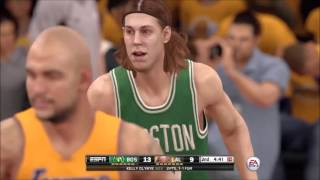 NBA 2K16 (PS4) - Lakers vs Celtics Gameplay