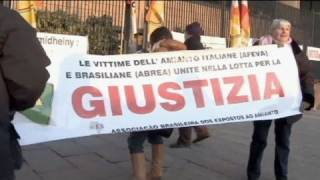 Jail time for company owners in Italy asbestos tial