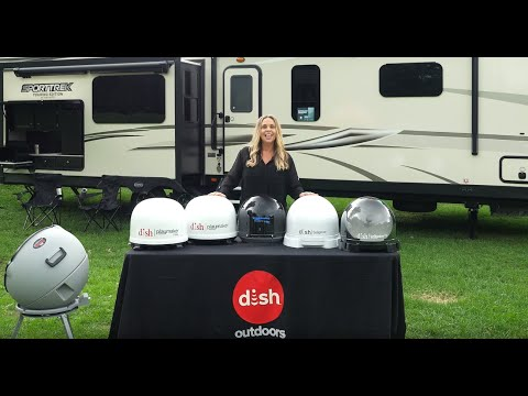 DISH Portable Satellite Antenna Options