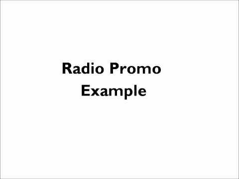 Radio Promo Example
