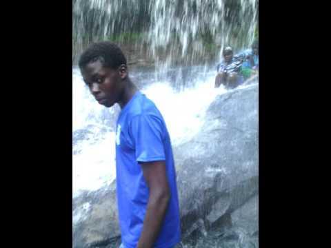 At kintampo waterfalls