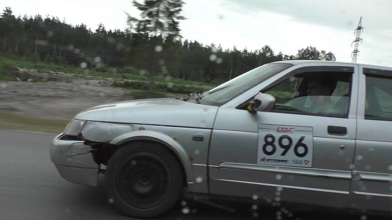 ВАЗ 2112 с турбой за 5000 рублей против ВАЗ 21099 атмо и Mercedes W210 5.0 306 сил.