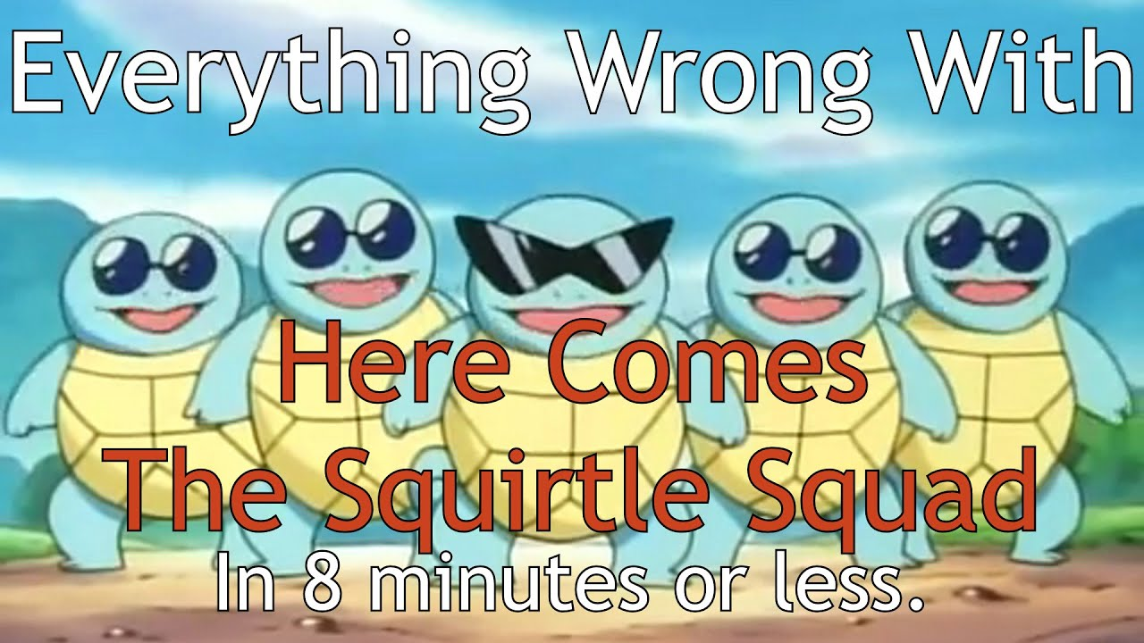 pokemon season 1 episode 12 here comes the squirtle squad